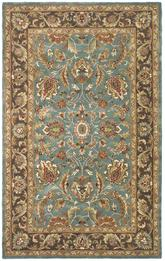 Safavieh Heritage HG812B Blue and Brown