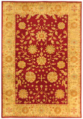 Safavieh Heritage HG813A Red and Gold