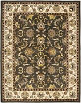 Safavieh Heritage HG819A Black and Ivory