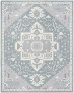 Safavieh Heritage HG823A Blue and Ivory