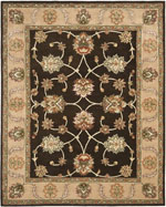 Safavieh Heritage HG851A Beige and Black