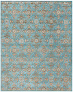 Safavieh Heritage HG870A Turquoise and Multi