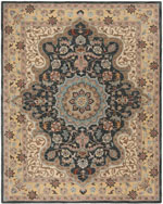 Safavieh Heritage HG918A Creme and Black