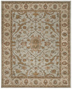 Safavieh Heritage HG937A Light Blue and Ivory