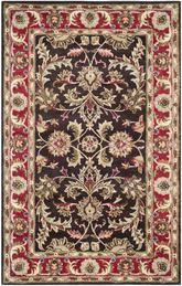 Safavieh Heritage HG951A Chocolate and Red