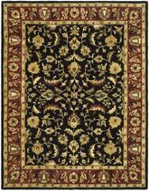 Safavieh Heritage HG953A Black and Red