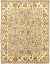 Safavieh Heritage HG959A Light Green and Beige
