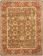 Safavieh Heritage HG963A Beige and Rust
