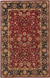 Safavieh Heritage HG966A Red and Navy