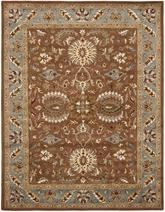 Safavieh Heritage HG968A Brown and Blue