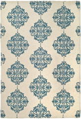 Safavieh Chelsea  HK145A Ivory and Blue