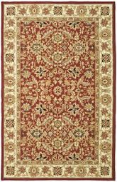 Safavieh Chelsea  HK157A Red and Ivory