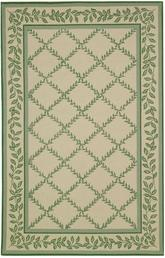 Safavieh Chelsea  HK230B Ivory and Light Green