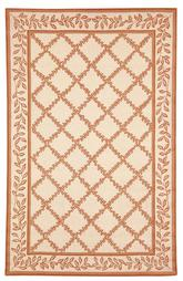 Safavieh Chelsea HK230C Ivory and Camel