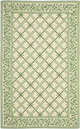 Safavieh Chelsea HK231A Ivory and Light Green