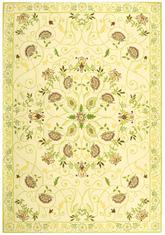 Safavieh Chelsea  HK330B Ivory and Green