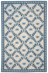 Safavieh Chelsea HK55D Ivory and Blue