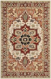 Safavieh Chelsea HK709A Red and Ivory