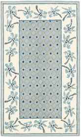 Safavieh Chelsea  HK724A Blue and Ivory