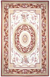 Safavieh Chelsea HK72A Ivory and Burgundy