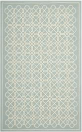 Safavieh Chelsea  HK739B Blue and Ivory