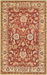 Safavieh Chelsea  HK805A Red and Ivory