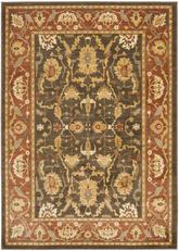 Safavieh Heirloom HLM1666-2537 Brown and Rust