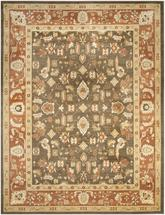 Safavieh Heirloom HLM1740-2537 Brown and Rust