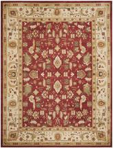 Safavieh Heirloom HLM1740-4011 Red and Creme