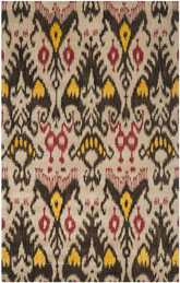 Safavieh Ikat IKT216A Beige and Brown
