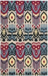 Safavieh Ikat IKT466A Beige and Blue