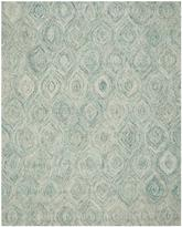 Safavieh Ikat IKT631A Ivory and Sea Blue
