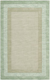 Safavieh Impressions IM821D Green and Beige