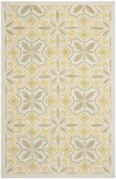 Safavieh Isaac Mizrahi IMR359A Yellow and Beige