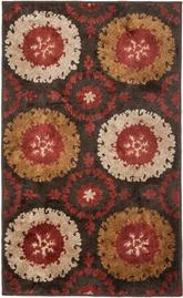 Safavieh Kashmir KAS111A Brown and Red