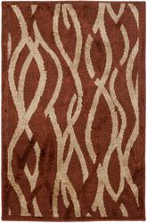 Safavieh Kashmir KAS117B Rust and Ivory