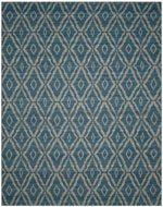 Safavieh Kilim KLM215A Blue and Grey