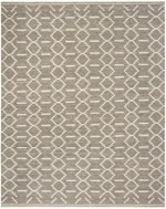 Safavieh Kilim KLM353A Grey and Ivory