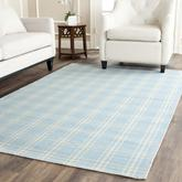 Safavieh Kilim KLM420A Light Blue and Yellow