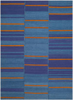 Safavieh Kilim KLM817A Blue and Multi