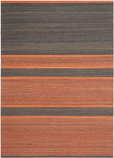 Safavieh Kilim KLM952C Dark Grey and Orange