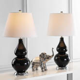 CYBIL DOUBLE GOURD TABLE LAMP