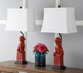 FOO DOG TABLE LAMP