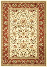 Safavieh Lyndhurst LNH212R Ivory and Rust