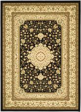 Safavieh Lyndhurst LNH213A Black and Ivory