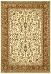 Safavieh Lyndhurst LNH214R Ivory and Rust