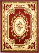 Safavieh Lyndhurst LNH218C Red and Ivory