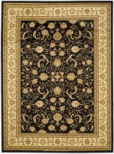 Safavieh Lyndhurst LNH219A Black and Ivory