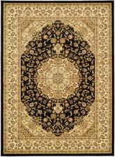 Safavieh Lyndhurst LNH222A Black and Ivory