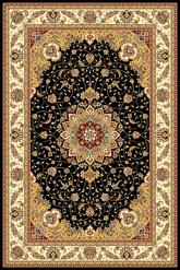 Safavieh Lyndhurst LNH329A Black and Ivory
